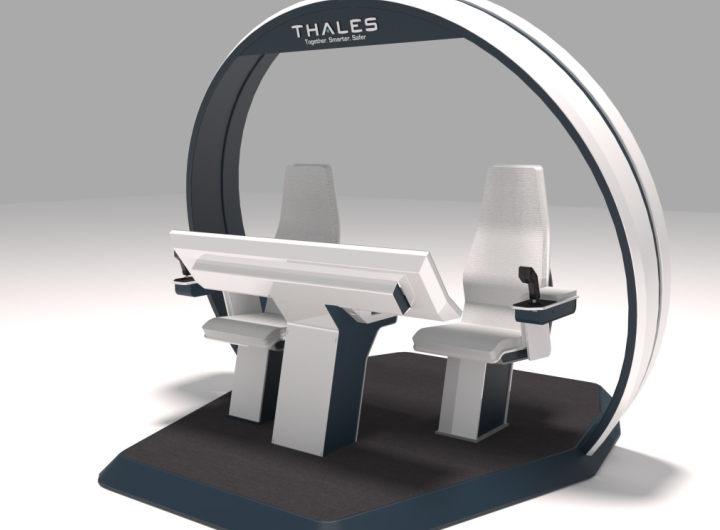 Mobilier materiaux de synthese thales proteus helico 1